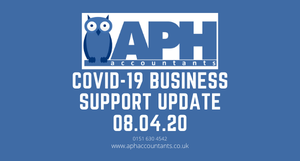 APH Accountants Wallasey COVID 19 business support update wirral