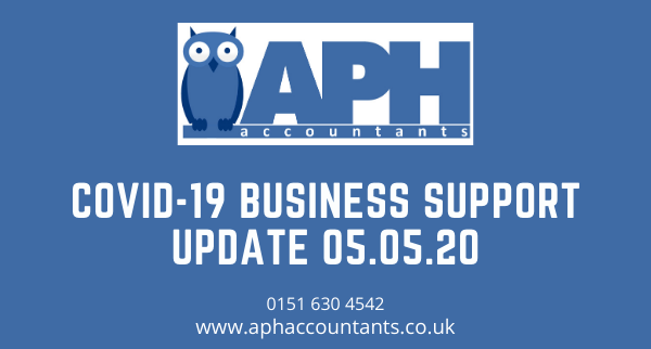 APH Accountants Wirral Wallasey Accountants Covid 19 business support update for self employed company directors and startups