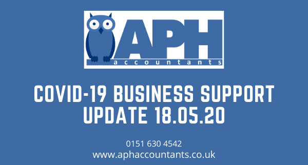APH Accountants Wirral COVID-19 Business Support Update 13/05/20