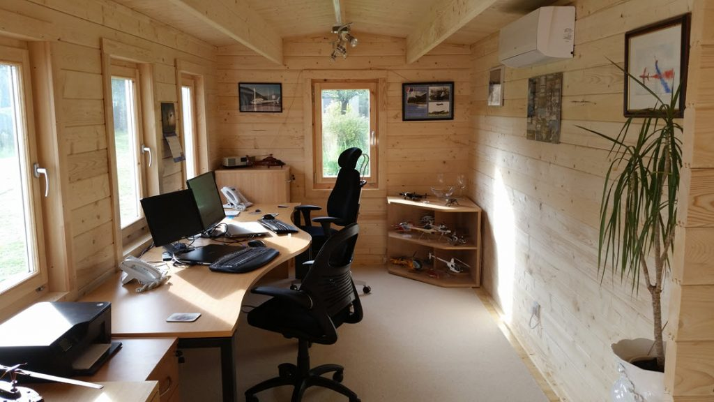 APH Accountants Wirral Working from Home – Log Cabins